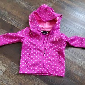Underarmour toddler zipup hoodie